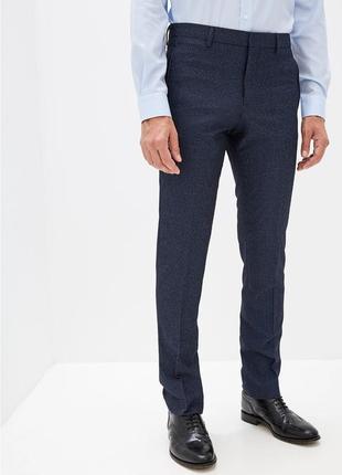 Мужские брюки slim fit ostin