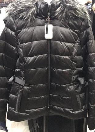 Куртка, осенняя, зимняя, пуховая, женская, размер, 44, m