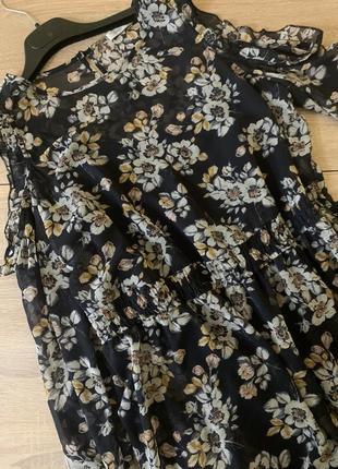 Красива шифонова сукня2 фото