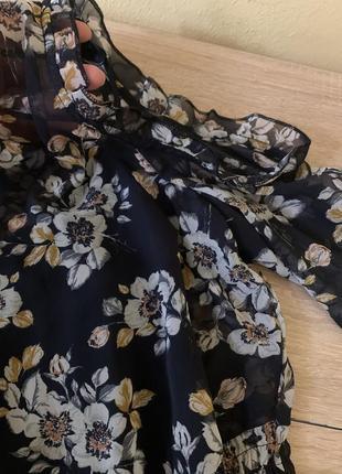 Красива шифонова сукня3 фото