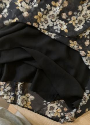 Красива шифонова сукня5 фото