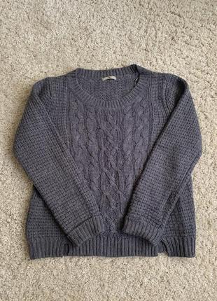 Вязаная кофта в'язана кофта светр свитер світшот свитшот