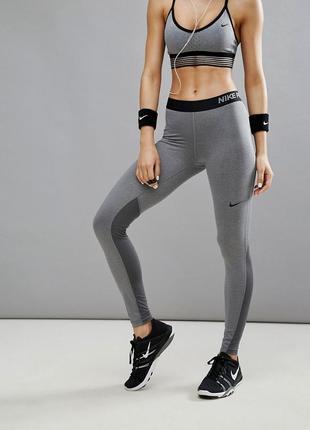 Тайтсы nike pro cool лосины спортивные штаны