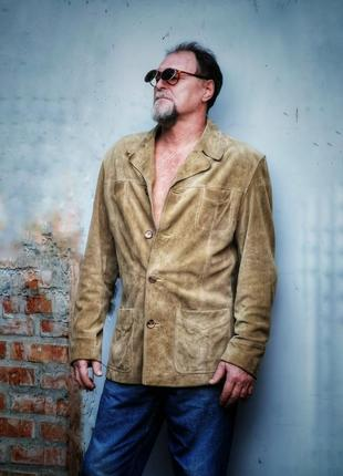 Кожаная натуральная куртка мужская пиджак gipsy кожа
