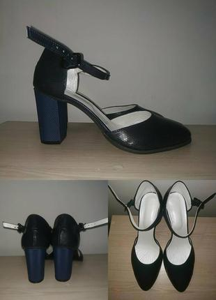 Туфли 42, 44 р классика кожаные