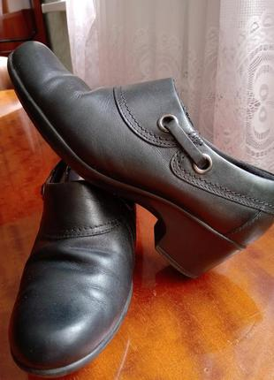 Кожаные туфли р.24/5d