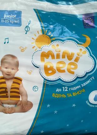 Подгузники mini bee 5 (11-25kg)🐝