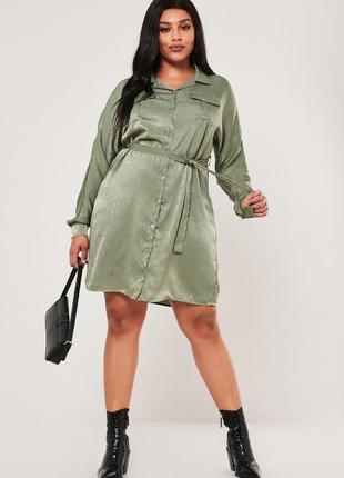Missguided.товар из англии.платье рубашка с поясом.