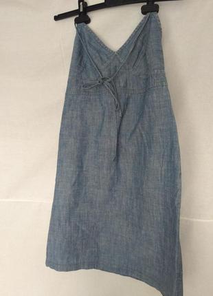 Сарафан джинсовый под футболку
