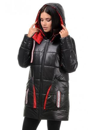 Р. 42-48 зимняя, стильная, удобная, качественная курточка