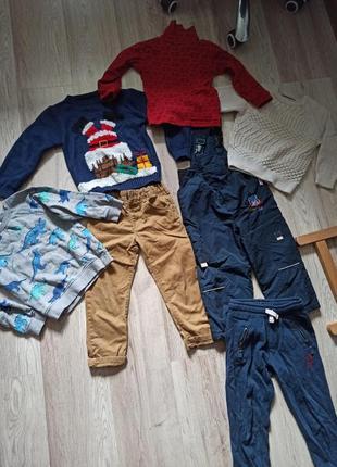 Пакет фирменных вещей на мальчика 3-4 года