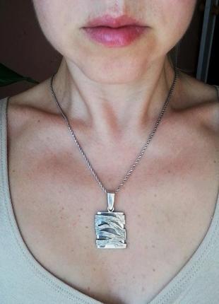 Кулон # подвеска серебряная б/у # срібна підвіска лот 293
