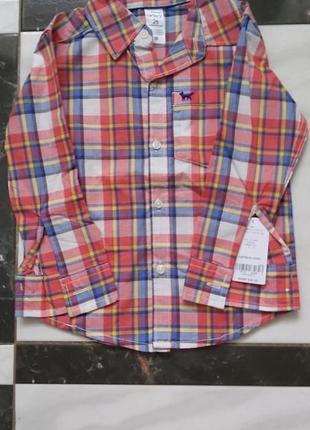 Carter's сорочка для хлопчика 2-х років