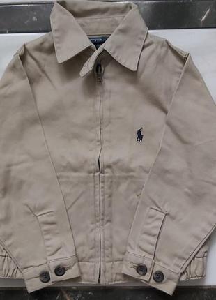 Ralph lauren 100% cotton, весняна куртка