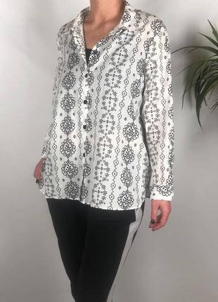Нежная хлопковая блуза большого размера marks&spencer p.18/46