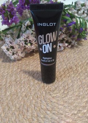 Хайлайтер inglot glow on 21/8мл