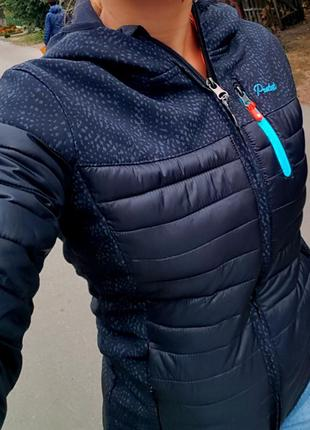 Спортивная деми куртка ультралегкая термо стеганная protest  soft shell  softshell