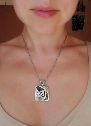 Кулон # подвеска серебряная б/у # срібна підвіска лот 296