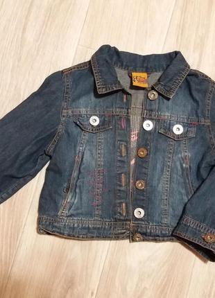 Джинсовый пиджачек alouette