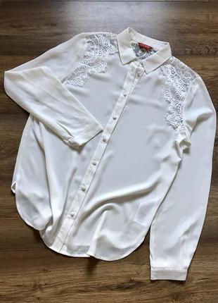 Блузка блузка с ажуром guess