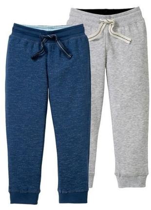 Джоггеры спортивные штаны утепленные lupilu