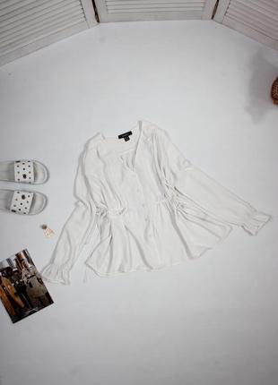 Белоснежная блуза от primark
