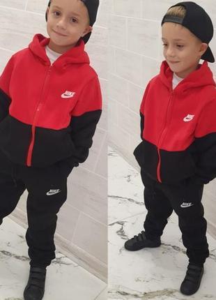 Теплий спортивний костюм дитячий (128-170) мод109