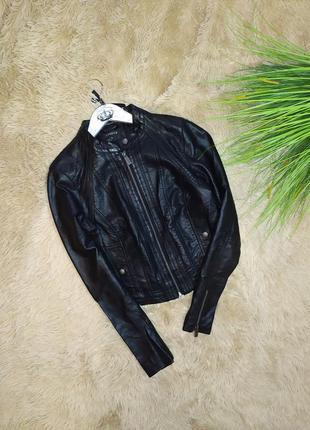 Куртка кожанка lindex p s