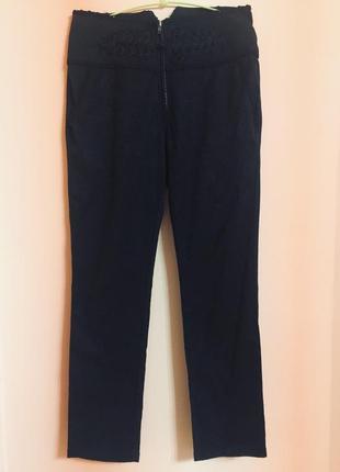 Роскошные брюки на высокой посадке,испания
