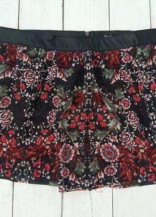 Шорты-юбка stradivarius, размер 36.
