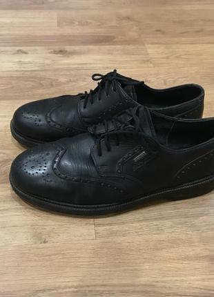 Мужские кожаные туфли броги riker
