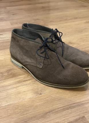 Замшевые брендовые туфли ted baker london