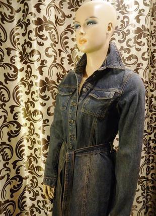 Xanaka, длинное  джинсовое платье, р-р s