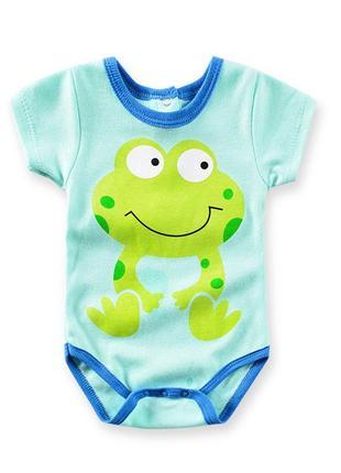 Боди детский лягушка
