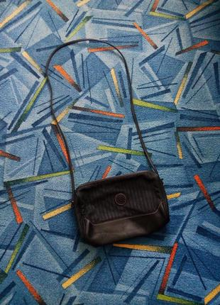 Винтажная сумка з длиной ручкой , клатч fendi roma