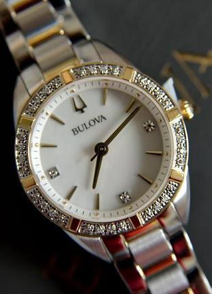 Женские часы с бриллиантами. оригинал!