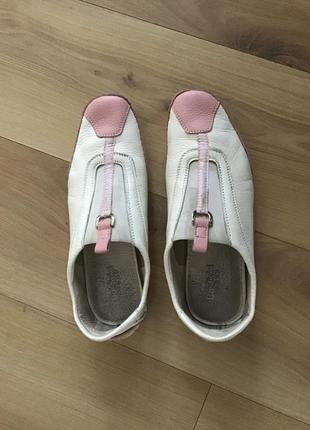 Кожаные кроссовки baldinini