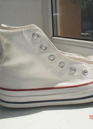 Кеды белые converse