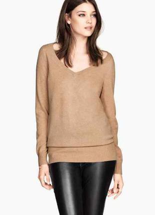 Легкий свитер оверсайз h&m