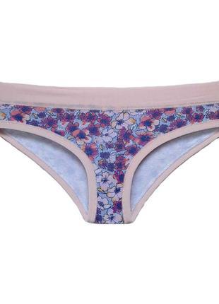 Женские хлопковые трусики хипстеры lovely girl в розовом цвете. lovely girl 3633