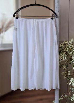 Белый подъюбник под платье 🌺
