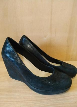 Vagabond кожаные туфли на платформе