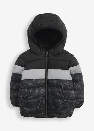 Нова тепла куртка next розм. 104, 110  і 122