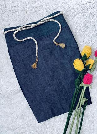 Лимитированная высококачественная джинсовая юбка gap