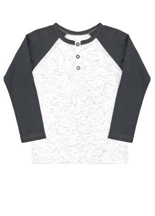 Джемпер футболка длинный рукав реглан планка на пуговицах