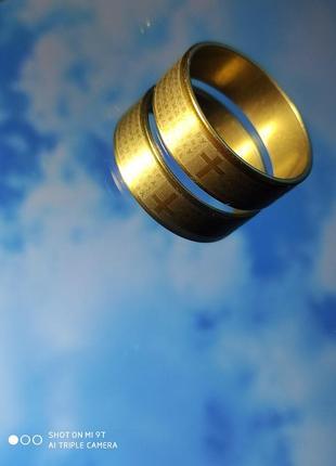 Кольцо (позолота)