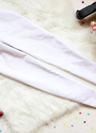 Белоснежные джинсы  скини denim co
