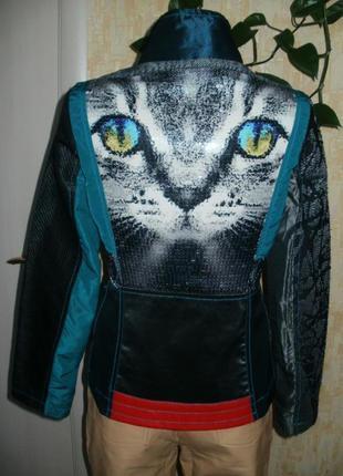 Марокко!красивая куртка 3d кошка куртка курточка пиджак