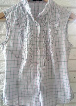 Летняя рубашка с короткими рукавами