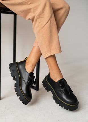 Новые туфли броги натуральная кожа с 36-40